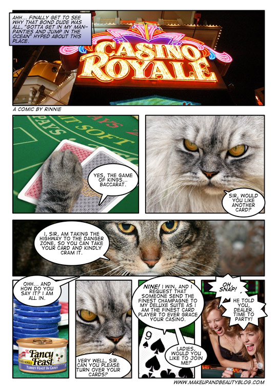 A tabby cat comic by MBB reader Rinnie