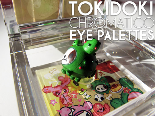 tokidoki eyeshadow review