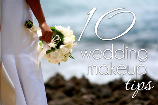 10 Wedding Makeup Tips From A Artist