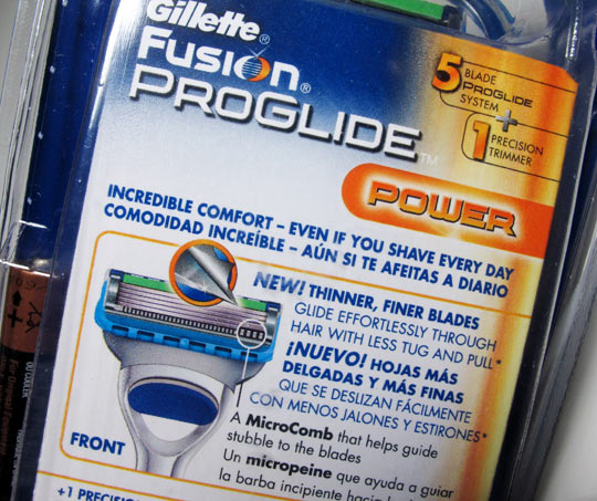 Gillette fusion power review