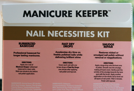 Lori Greiner by Orly Manicure Keeper Nail Necessities Kit