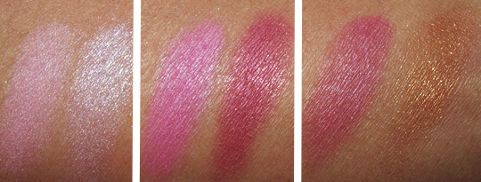 MAC in the groove mineralize blush duo hang loose band of roses new vibe