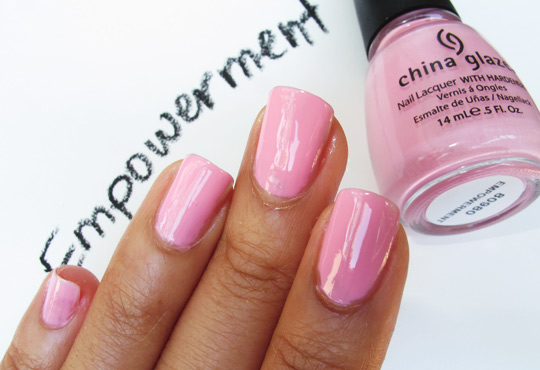 china glaze fight like a woman empowerment