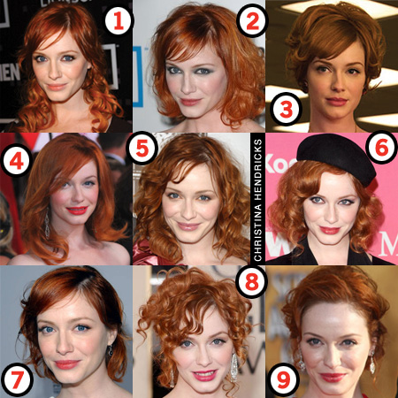 Christina Hendricks: Her Best Hair?
