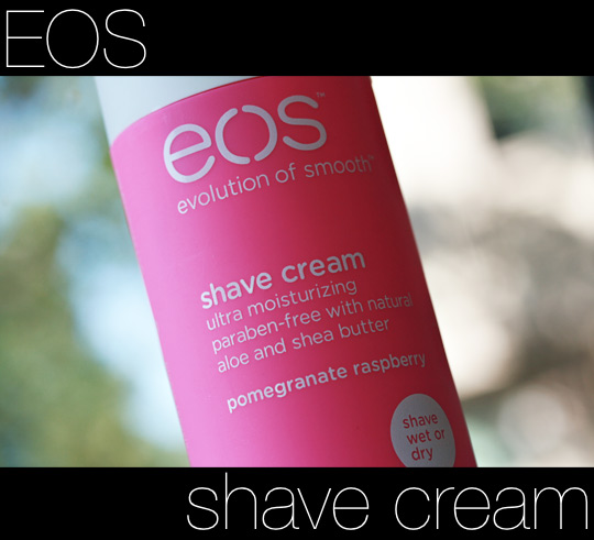 eos evolution of smooth shave cream review