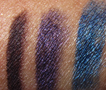 MAC In The Groove Swatches