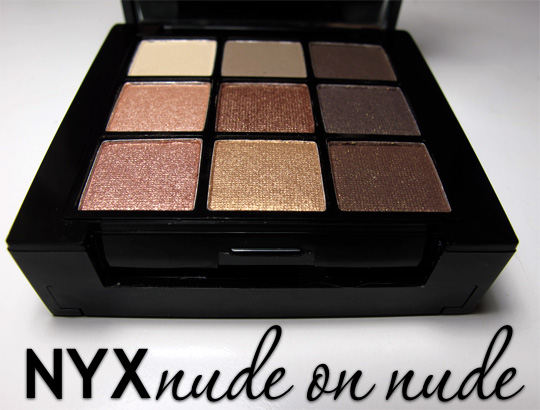 nyx nude on nude natural look kit review