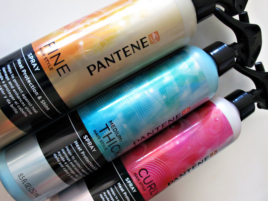 pantene heat protection shine spray review