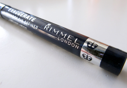 rimmel exaggerate waterproof eye definer review