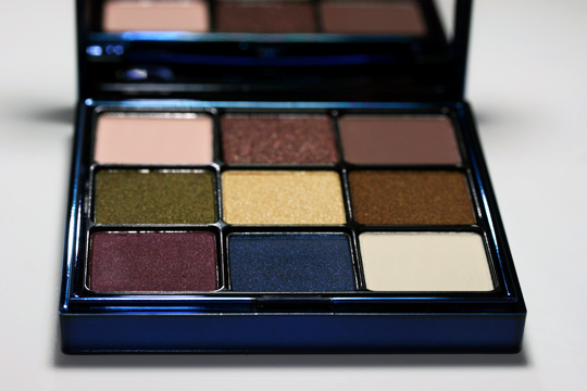 smashbox masquerade eye palette swatches review