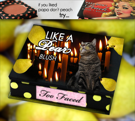 Tabs for Too Faced Like a Pear