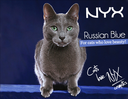 Tabs for NYX Russian Blue