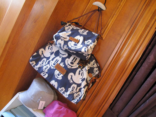 beauty of disney dooney bags blue and white