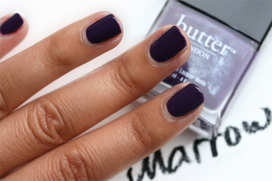 butter london fall 2010 swatches marrow