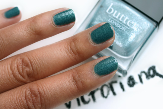 butter london fall 2010 swatches victoriana