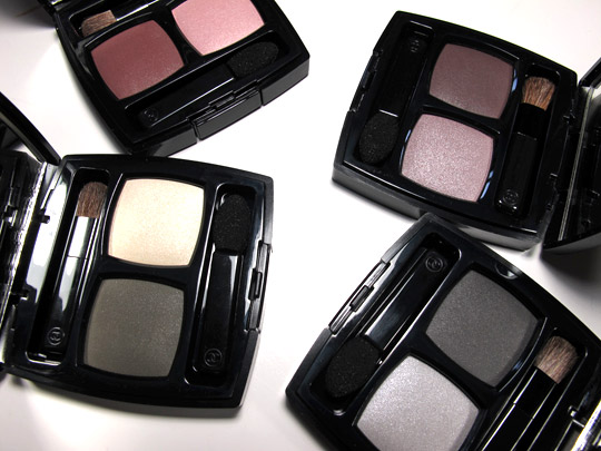 chanel ombres contraste eyeshadow duo review swatches top