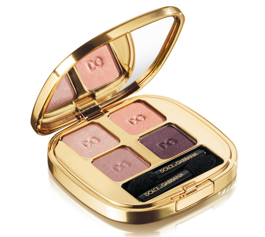 dolce gabbana sicilian lace collection fall 2010 Smooth Eyeshadow Quad in Nude