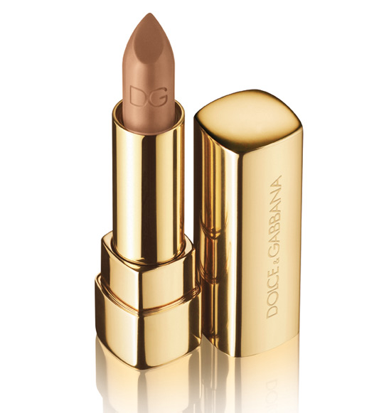 dolce gabbana sicilian lace collection fall 2010 caramel classic cream lipstick