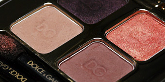 Dolce & Gabbana Sicilian Lace Smooth Eyeshadow Quad in Nude