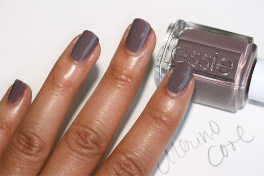essie fall 2010 swatches merino cool