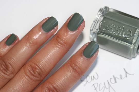 essie fall 2010 swatches sew psyched