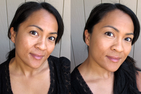lorac evening out review before after