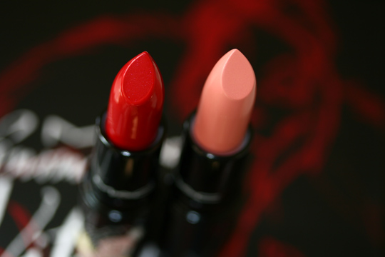 mac venomous villains review swatches photos cruella de vil lipstick heartless innocence beware open