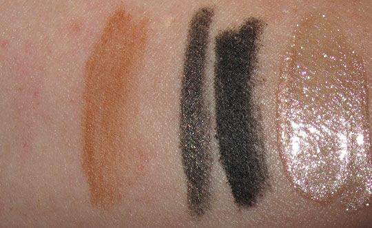mac venomous villains review swatches photos dr facilier magically cool greasepaint lip gelee on nw25 skin