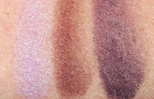 mac venomous villains review swatches photos evil queen swatches eyeshadow on nw25