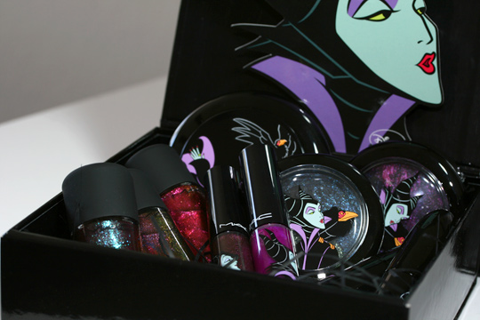 mac venomous villains review swatches photos maleficent overview shot