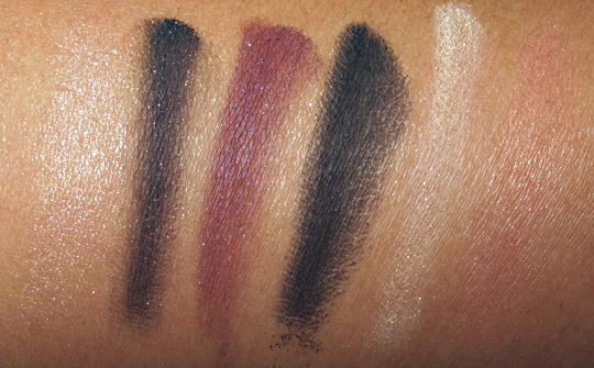 nars only you eye and cheek palette swatches