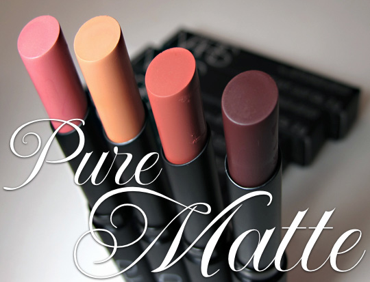 nars pure matte review