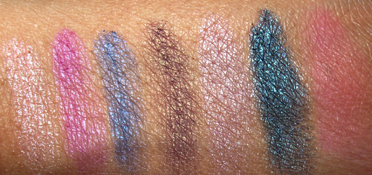 stila long wear backstage palette swatches