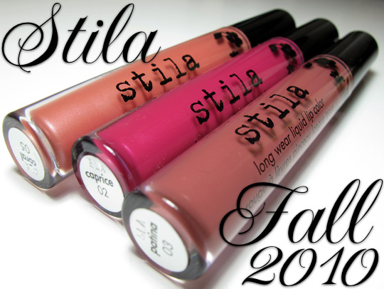 stila long wear liquid lip color review swatches