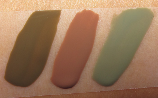 Chanel Les Khaki De Chanel Khaki Brun Khaki Rose Khaki Vert Swatches Review Photos