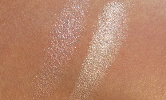 Urban Decay Urbanglow Sin Wicked swatch review pictures photos on arm