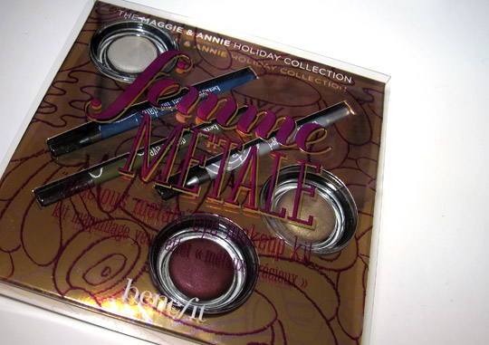 benefit femme metale review swatches photos box