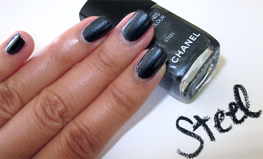 chanel soho steel swatch