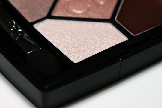 dior nude pink design swatches review closeup lower left
