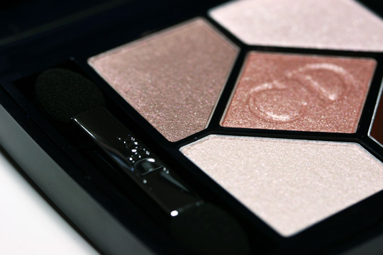 dior nude pink design swatches review closeup upper left