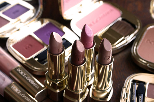 dolce gabbana ethereal beauty collection holiday 2010 photos lipsticks