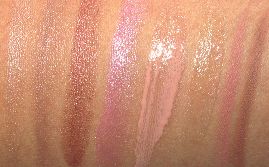 dolce gabbana ethereal beauty collection holiday 2010 swatches lips
