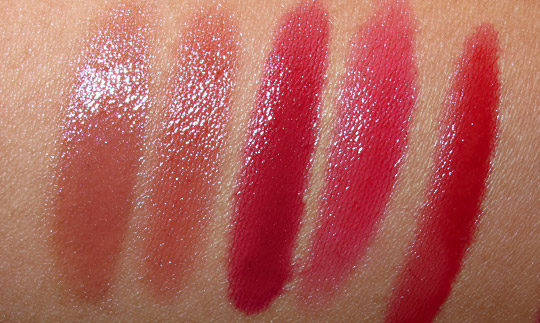korres raspberry liquid lipstick swatches
