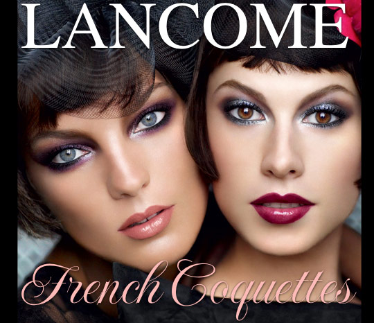 lancome french coquettes swatches