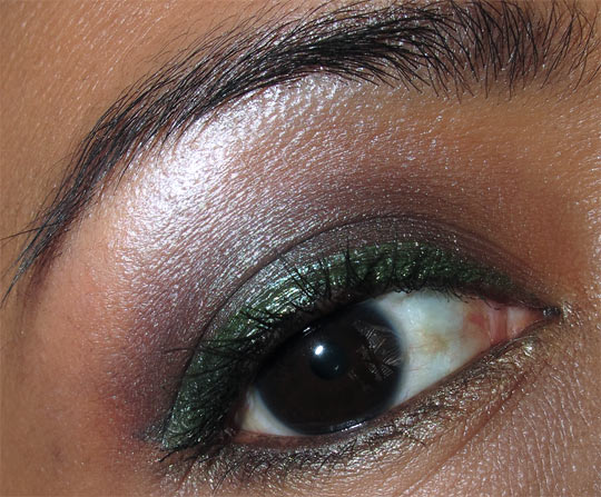 mac fabulous felines burmese beauty fotd eye
