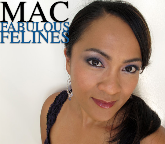 mac fabulous felines palace pedigreed fotd