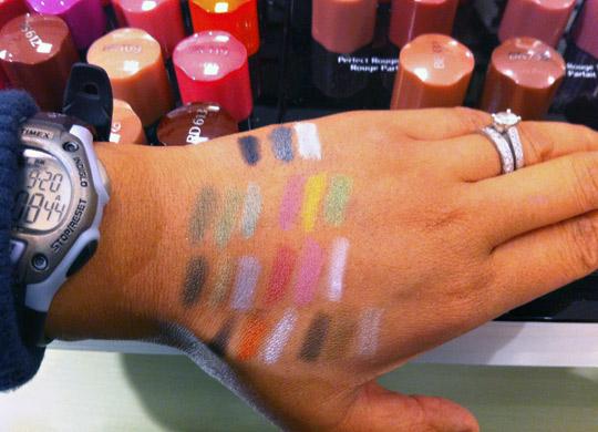 shiseido luminizing satin eye color trio swatches