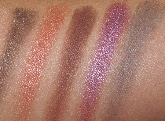 tarte ten palette swatches review eyesahdows 2