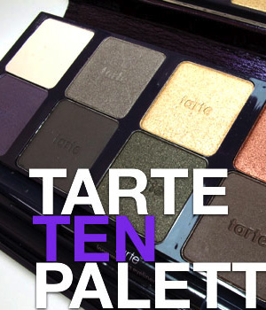 The Tarte TEN Palette