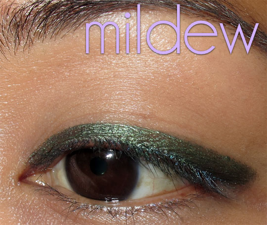urban decay 24 7 jackpot swatches review mildew